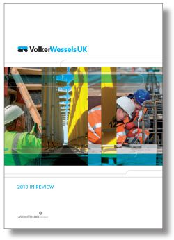 Cover In Reviw VolkerWessels UK 2013