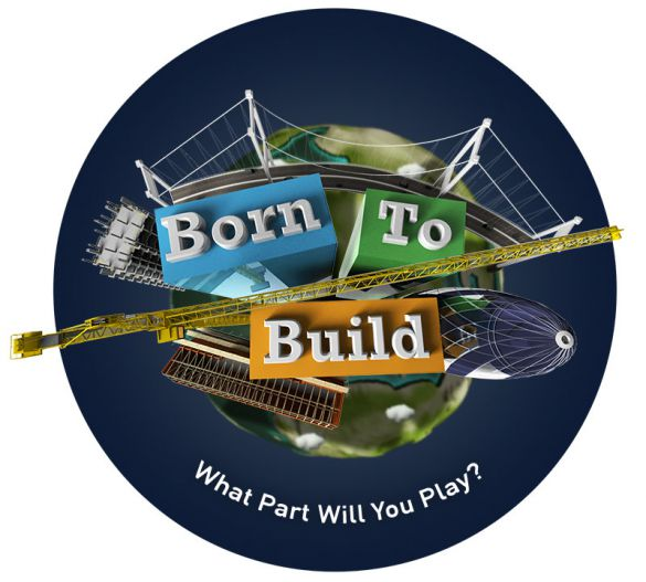 Born to build logo
