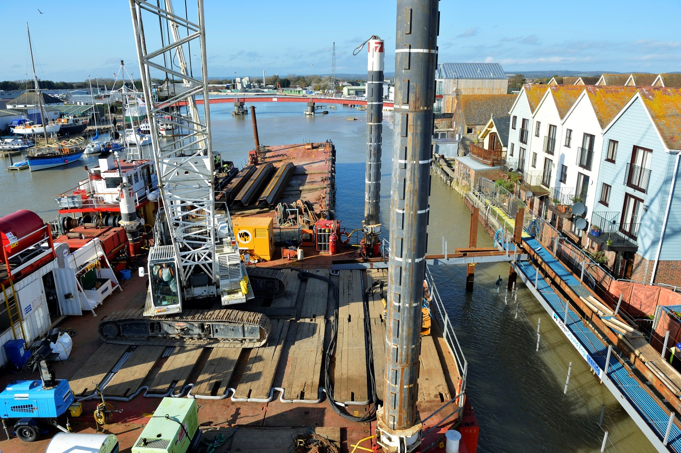 Littlehampton Arun Tidal Walls project